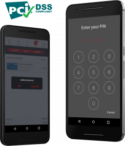 Sniip Mockup Security features app