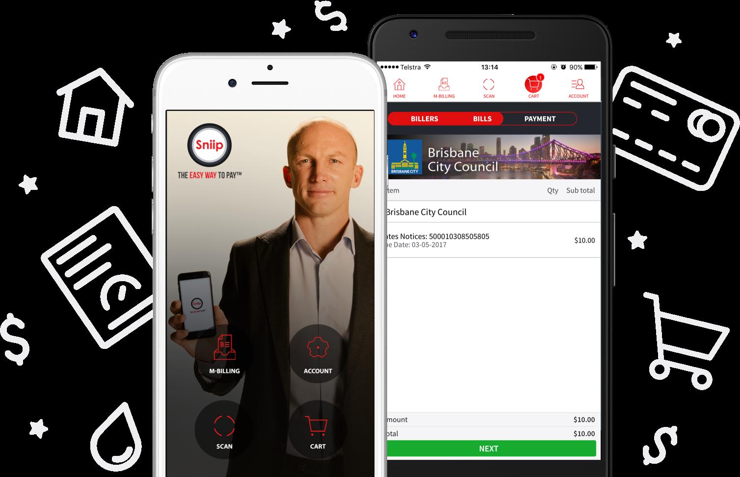 Sniip App mobile