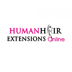 Human Hair Extensions Logo