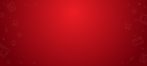 red background image