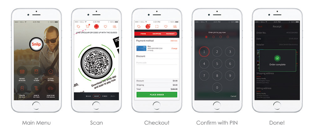 Retail - Scan to buy on your smartphone
