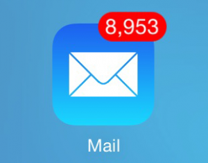 too many emails sniip spam