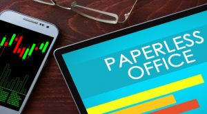 Three reasons to go paperless
